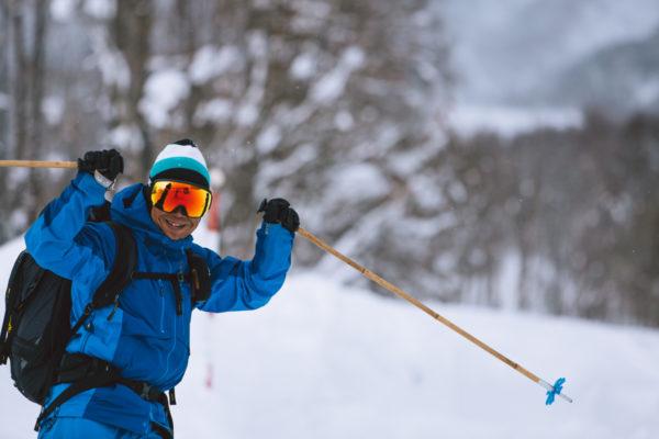 akihiro tachimoto excited about ski day